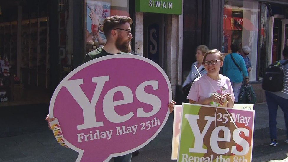 Ireland's referendum campaigning