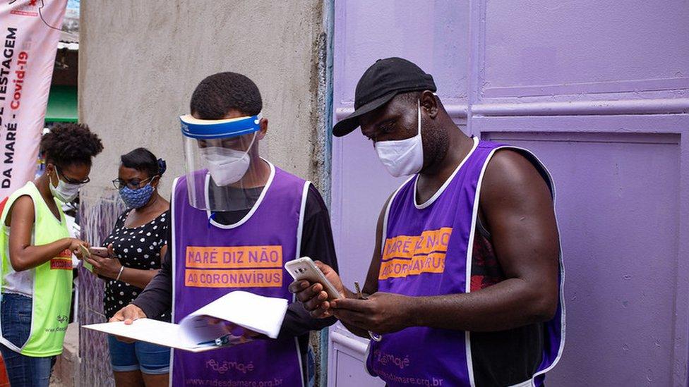 Voluntários do Conexão Saúde
