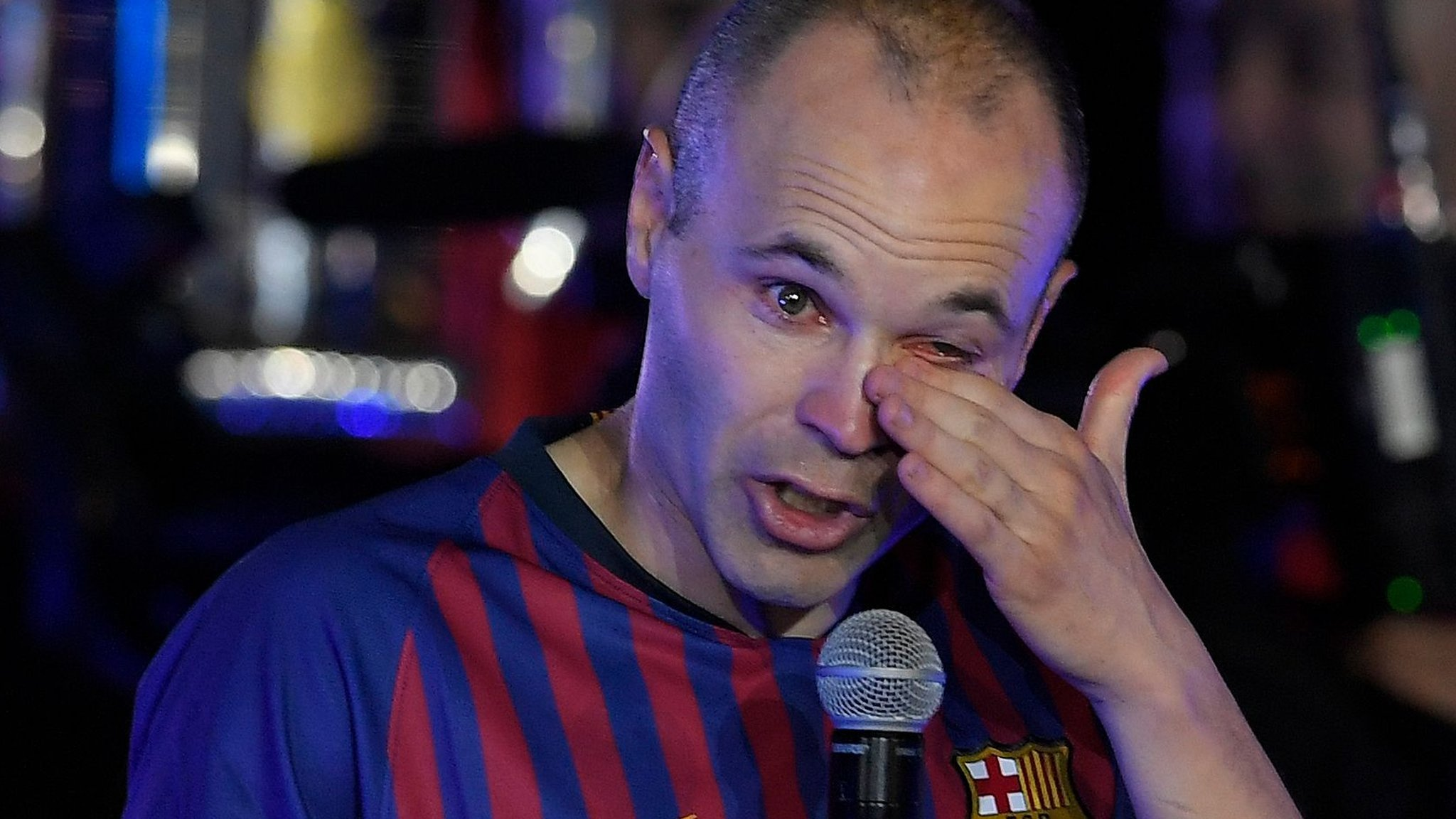 Andres Iniesta: Barcelona legend going to 'new home' in Japan