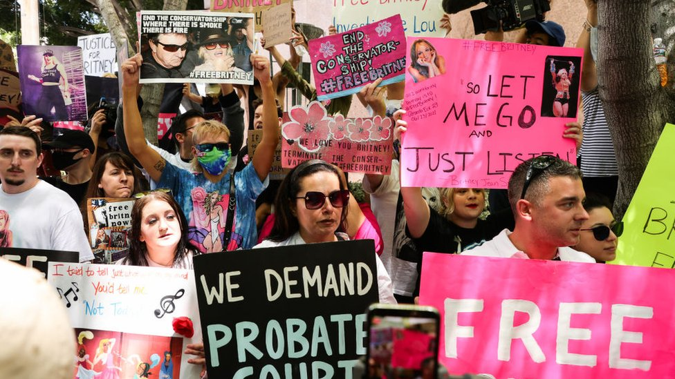Fans de Britney , 23 de junio, LA