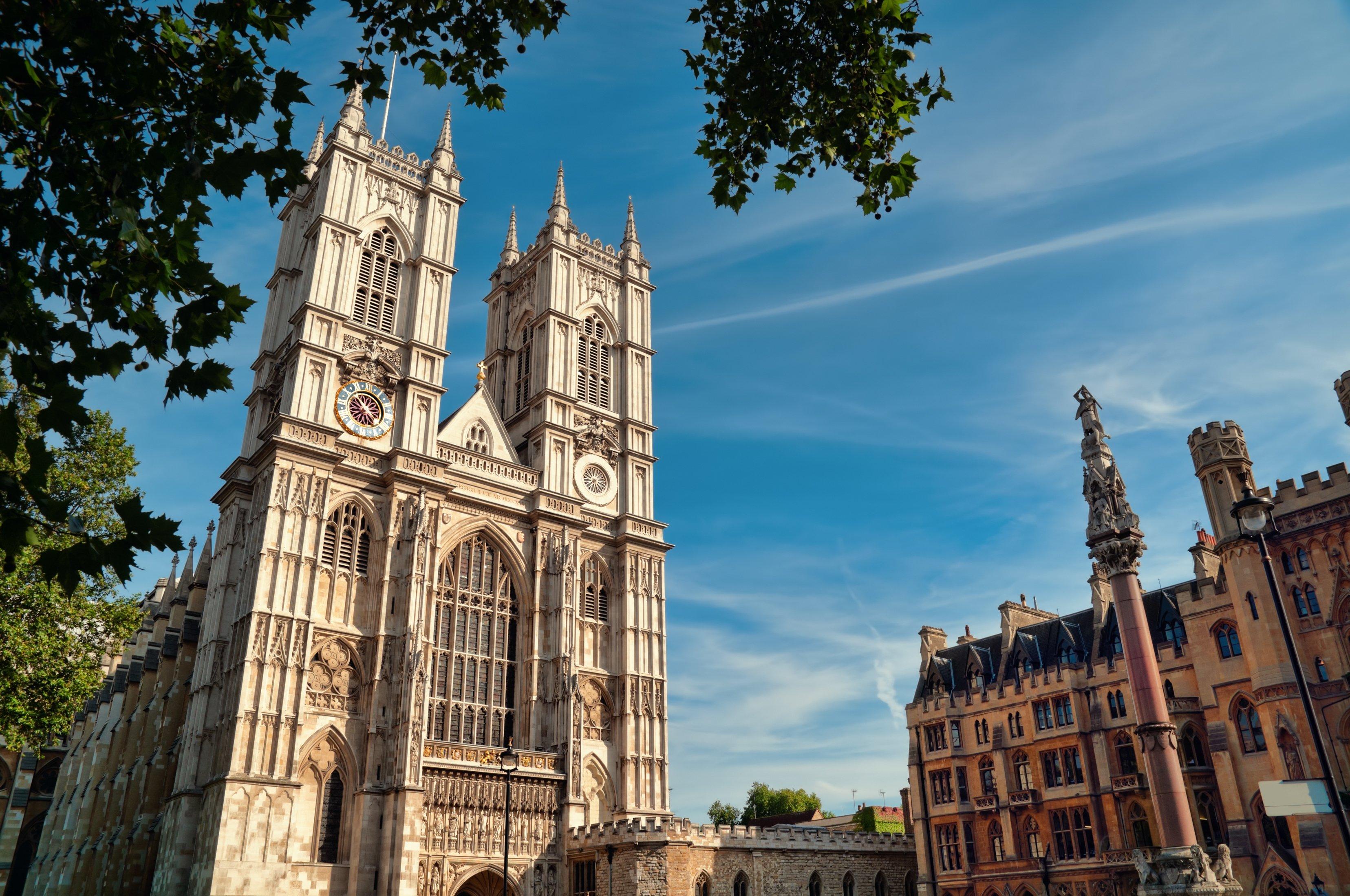 Foto de archivo de la abadía de Westminster.