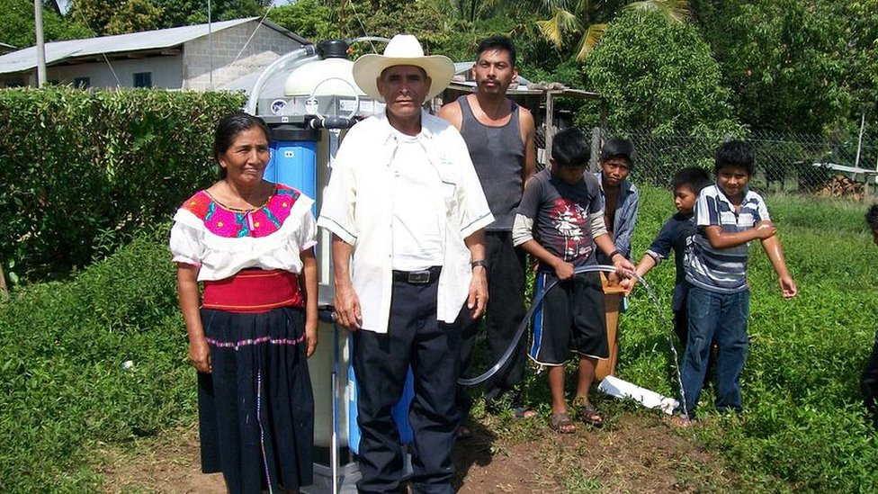 Filters featuring Nasa technology are helping people in rural Mexico to access clean drinking water