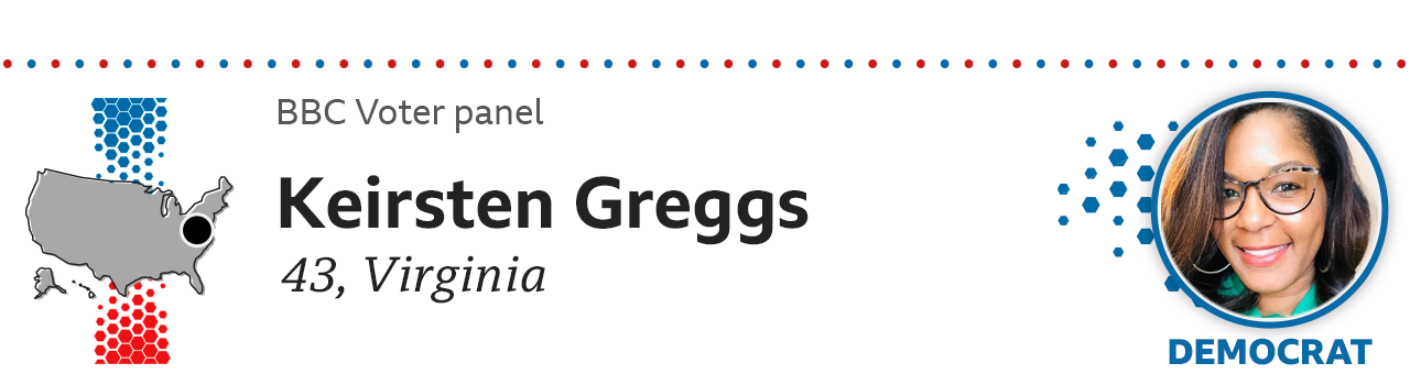 Keirsten Greggs, 43, Virginia