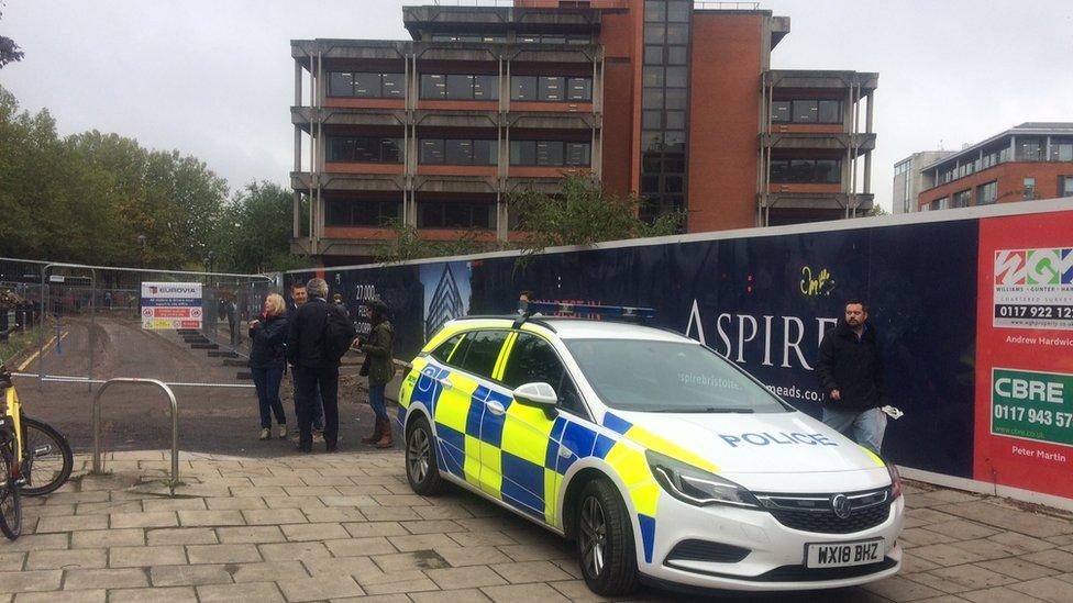Lift engineer 'seriously hurt' at Bristol Job Centre