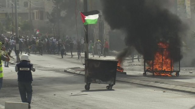 Unrest in Bethlehem streets