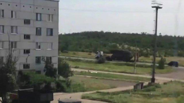 Photo of BUK rocket launcher