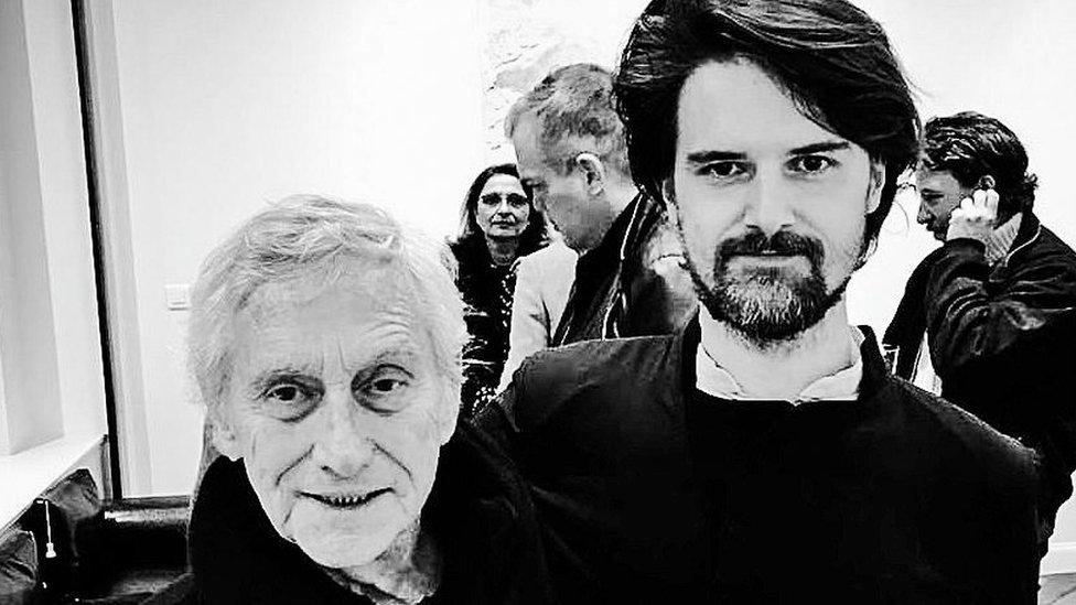 Vladimir Veličković i Damjan Kovačević