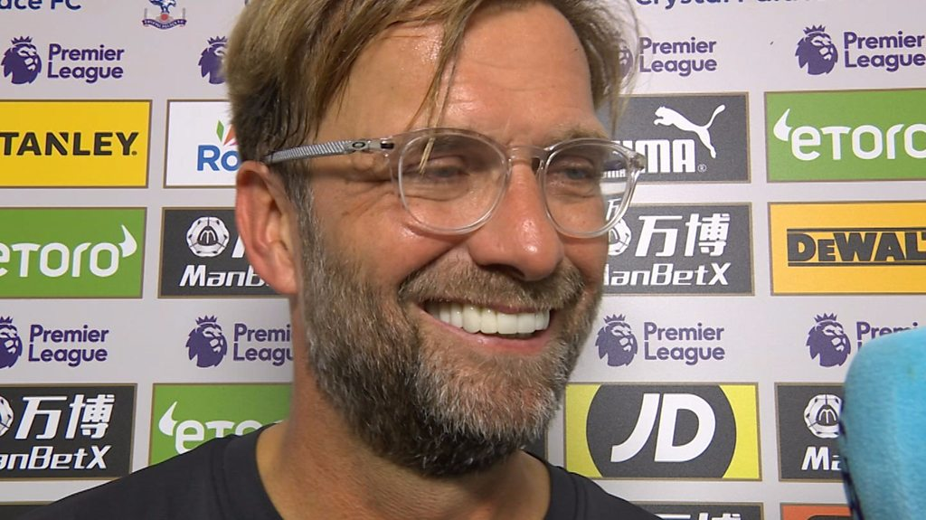 Crystal Palace 0-2 Liverpool: Jurgen Klopp says Reds can 'play better football'