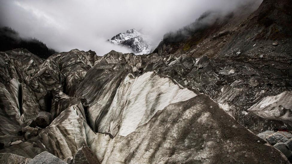 Glaciares del Hindú Kush Himalaya