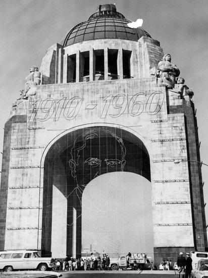 Monumento a la Revolución en México