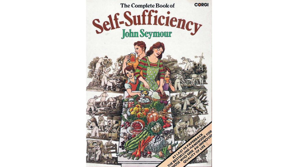 The front cover of The Complete Book of Self-Sufficiency by John Seymour