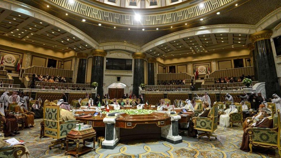 القمة الخليجية الأربعين في العاصمة السعودية الرياض. 10 ديسمبر/كانون الأول 2019