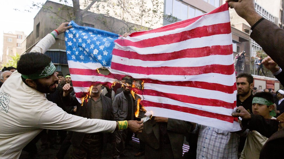 İran'da gösteri