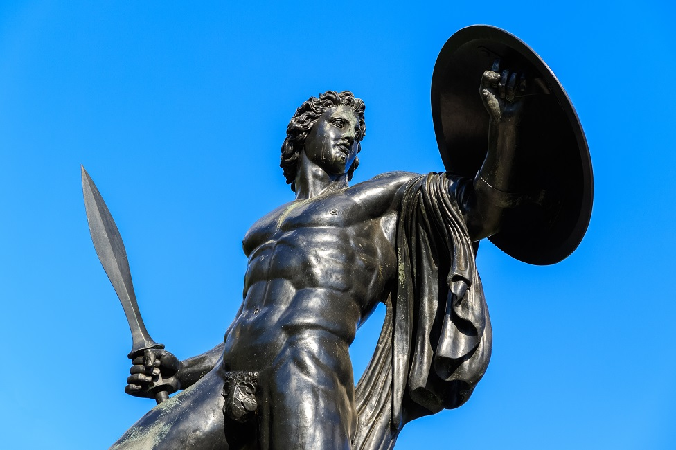 Statua Ahila u Hajd Parku