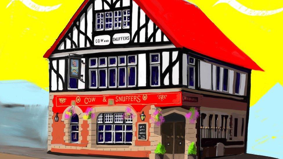 Llandaff pub the Cow and Snuffers