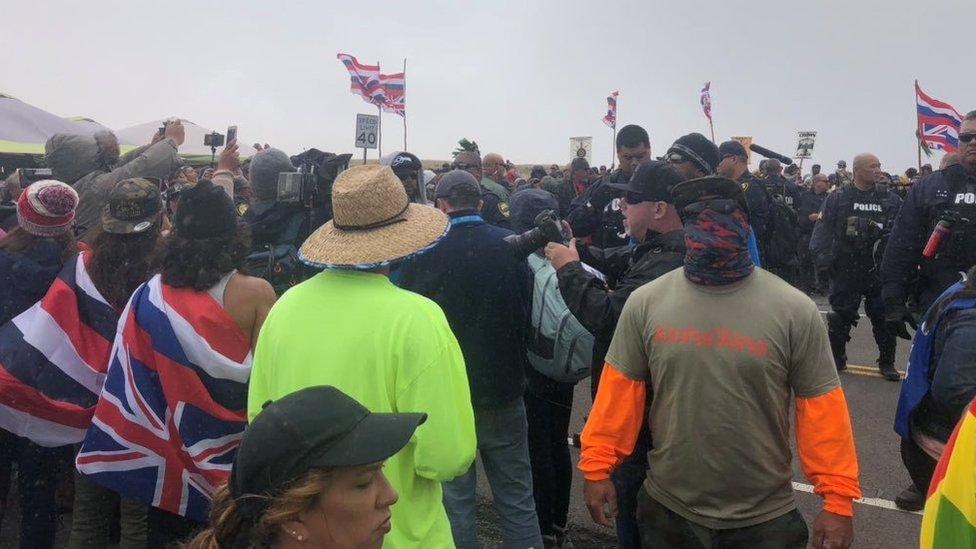 Demonstranti na Mauni Kea tvrde da neće odustati dok se TMT ne zaustavi