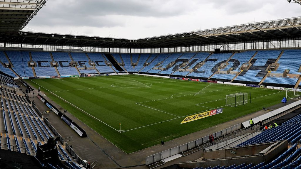 Coventry City: EFL vote cancelled as League One club has 'groundshare venue in place'