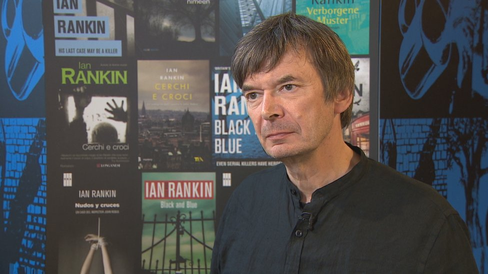 Author Ian Rankin gifts archive to National Library of Scotland
