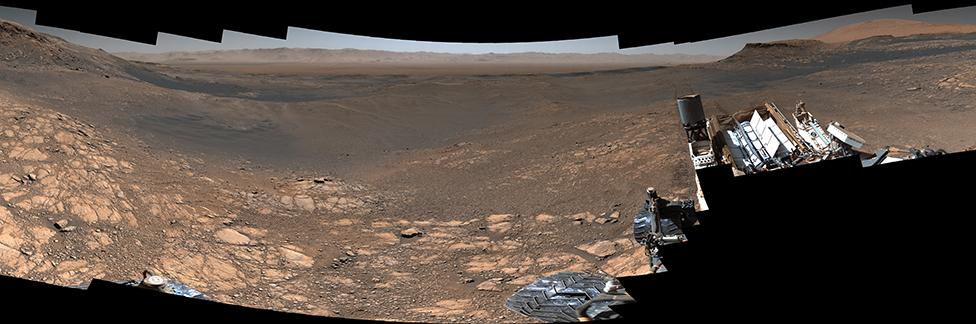 Un panorama de Curiosity