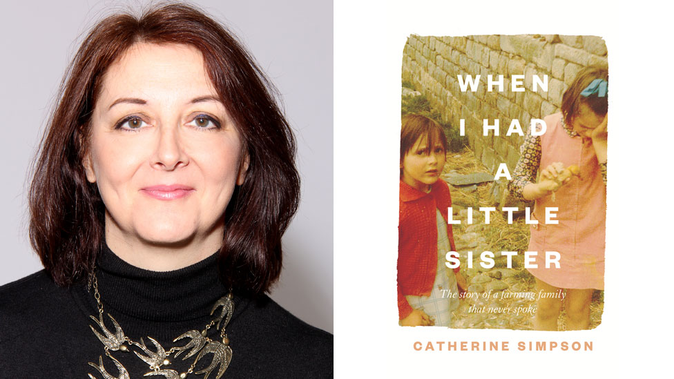 Catherine Simpson and her book