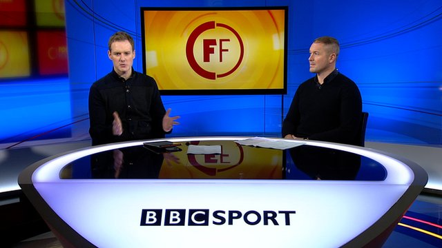 Dan Walker is joined by former England goalkeeper Paul Robinson for this week's Football Focus.