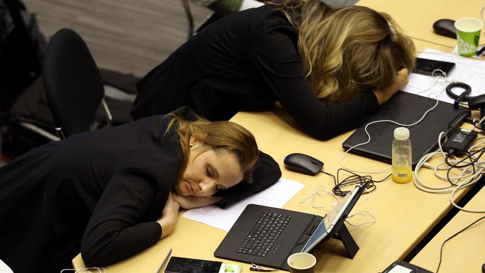 Novinar zaspali tokom EU samita, 30 jun 2019