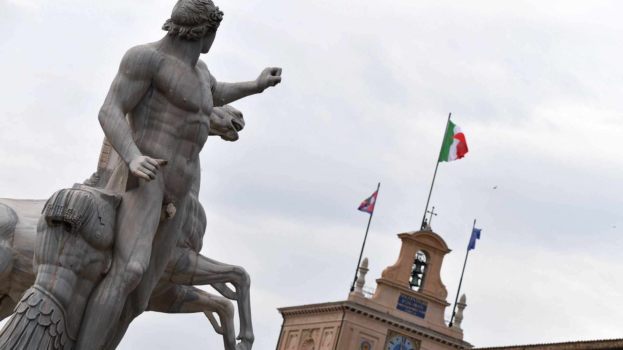Markets steady as Italian fears ease