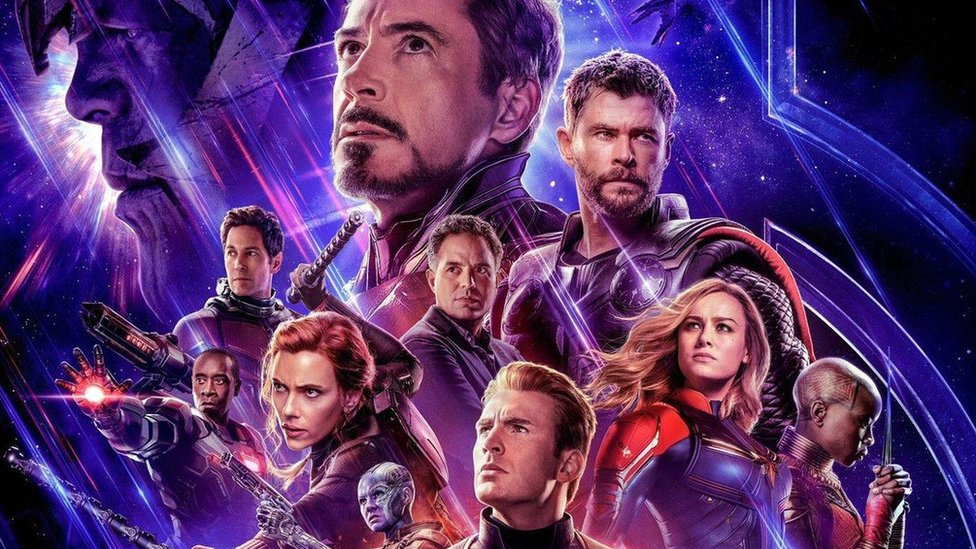 Avengers Endgame Fans Queue For Hours For Cinema Tickets Bbc News