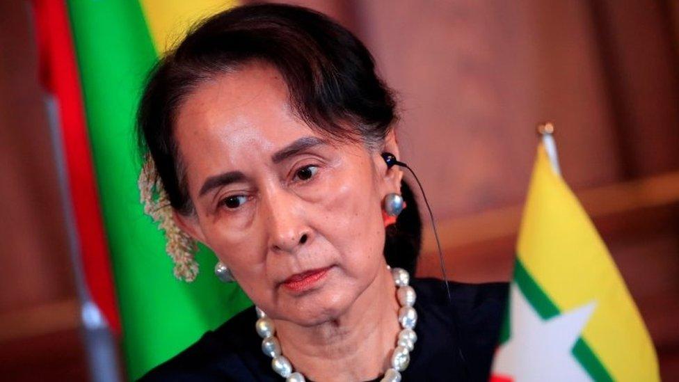 "Myanmar""s State Counsellor Aung San Suu Kyi"