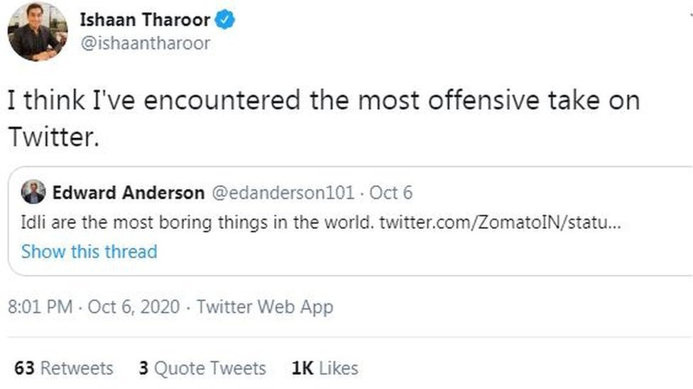 Ishan Tharoor: I think I've encountered the most offensive take on Twitter