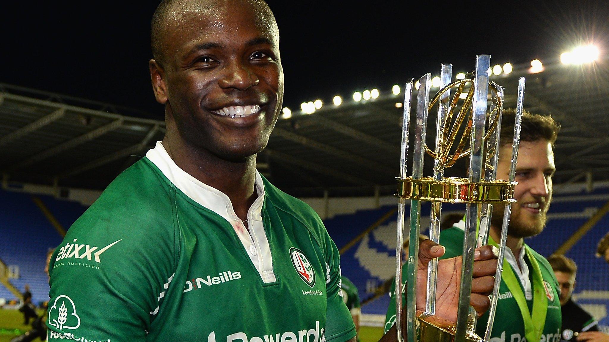 Topsy Ojo: London Irish legend wants investment in stronger Championship