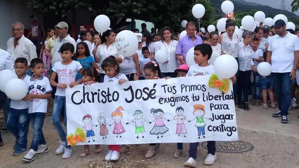 Marcha por la liberación de Cristo José