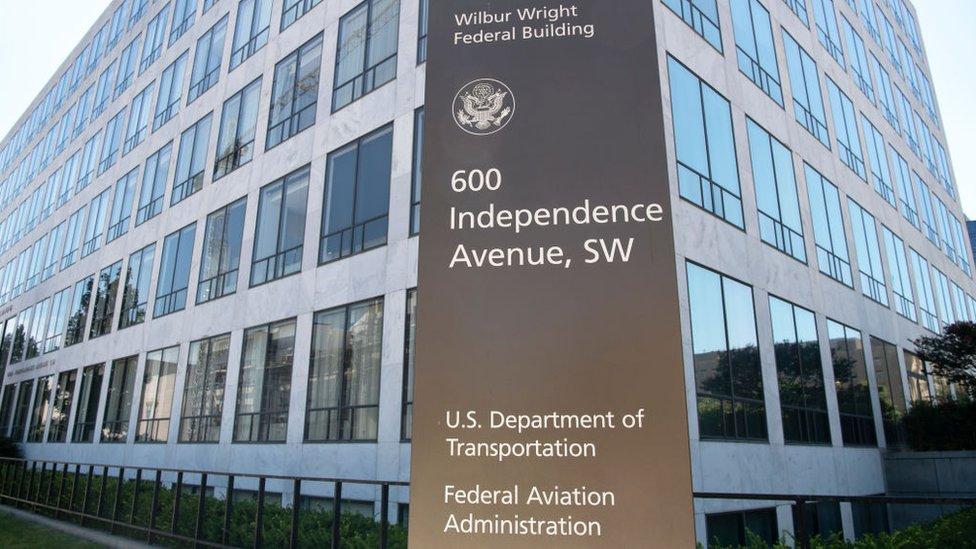 La sede de la FAA