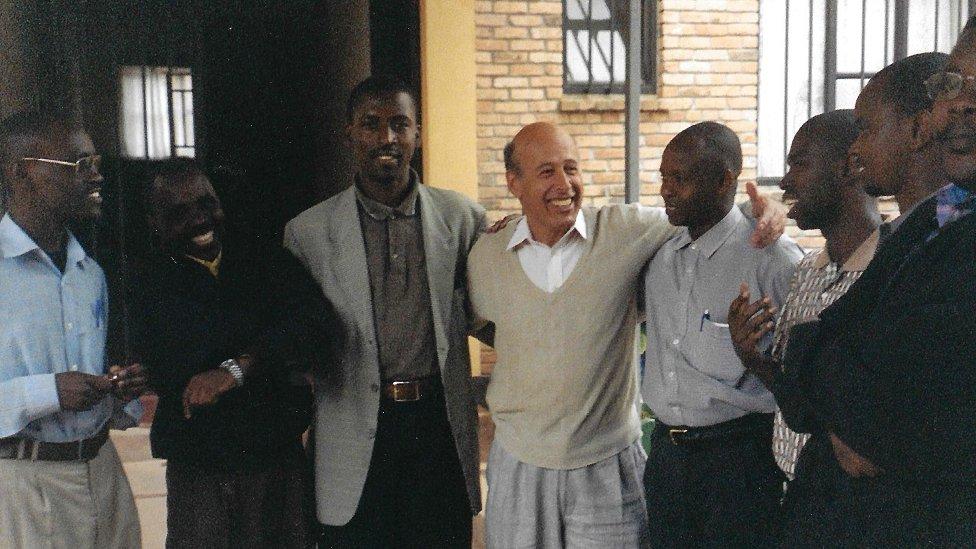 Staub en Ruanda
