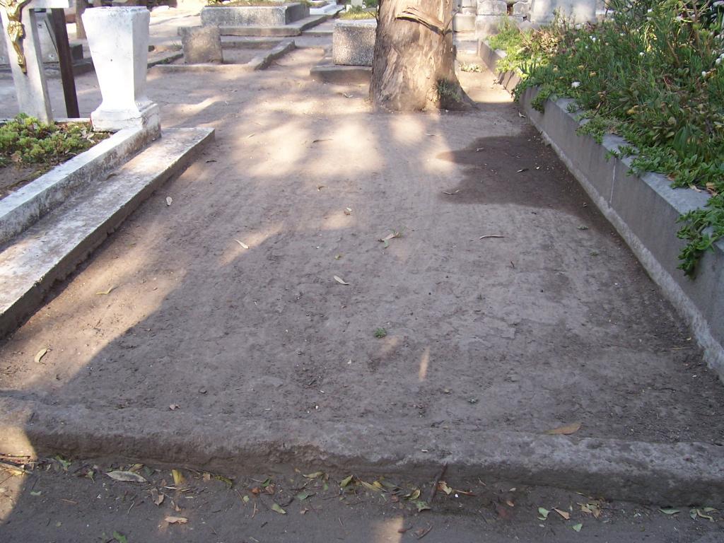 La tumba de William Ellis en el Panteón Español de Ciudad de México.