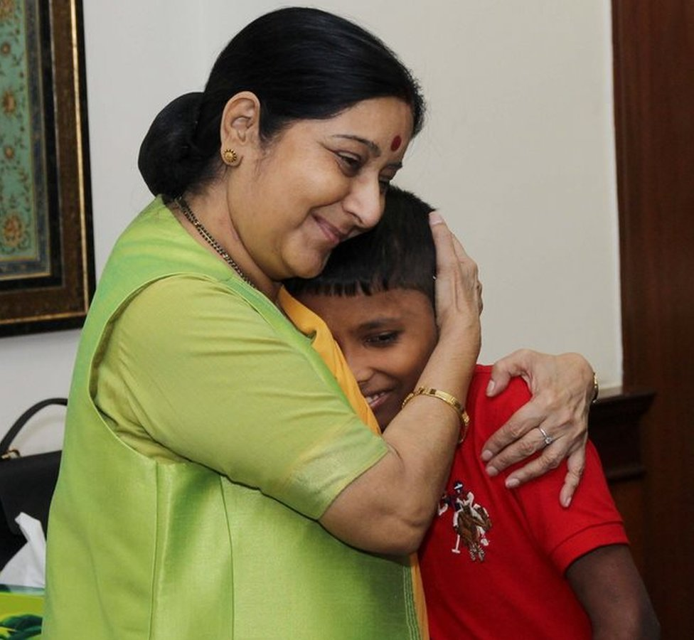 Ms Swaraj thanked the media for bringing Sonu's story to her notice