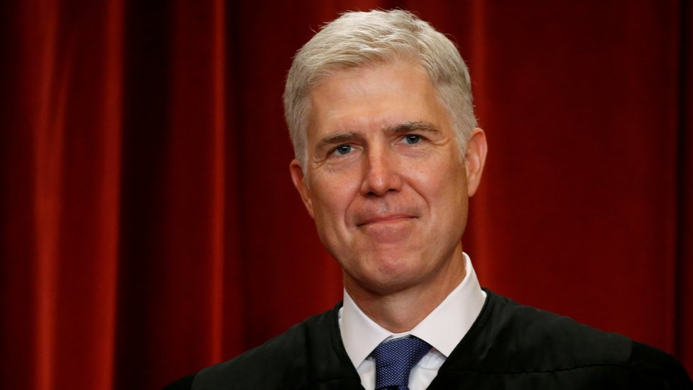 Neil Gorsuch, juez de la Corte Suprema de EE.UU.