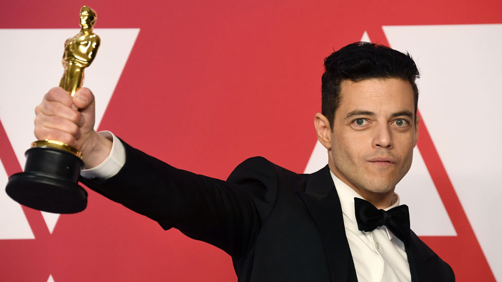 Rami Malek at the Oscars