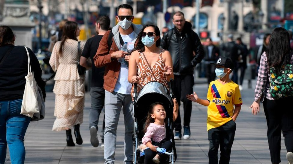 Familia en España.