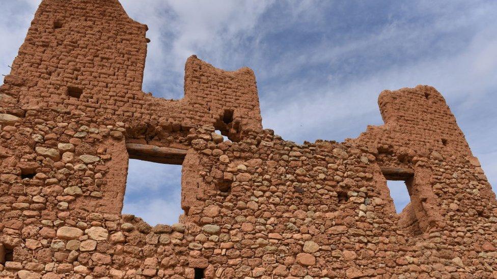 Vivienda en ruinas
