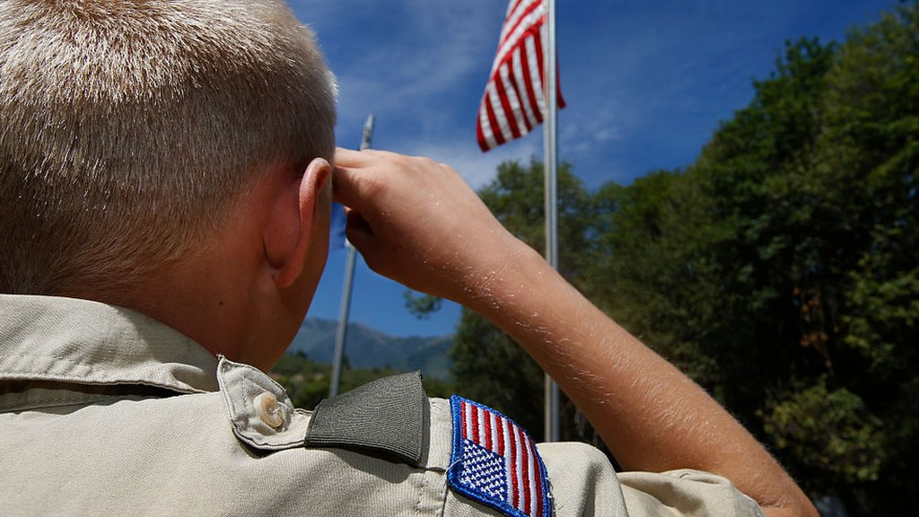 Boy Scouts apologise for Trump's speech