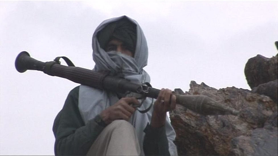 File picture of Taliban fighter