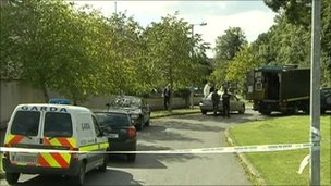 Paddy Dixon was injured in a bomb attack in Navan in August