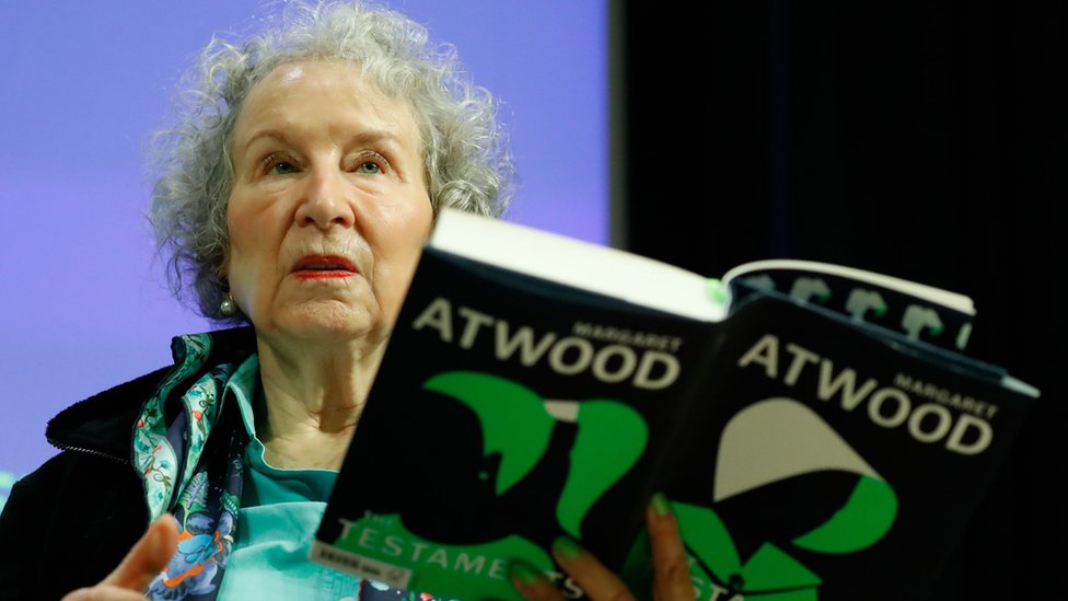 Margaret Atwood reading from The Testaments