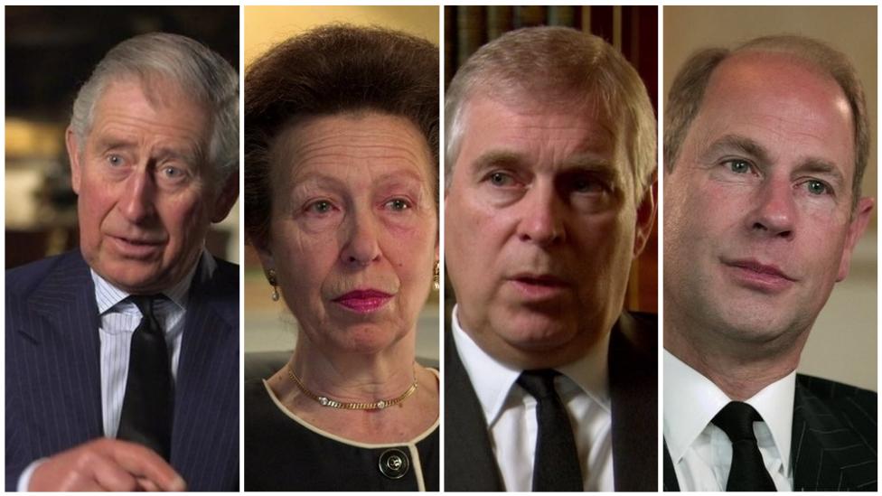 Empat anak Pangeran Philip dan Ratu Elizabeth.