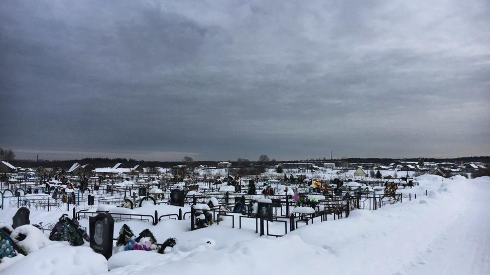 Severoonezhsk cemetery