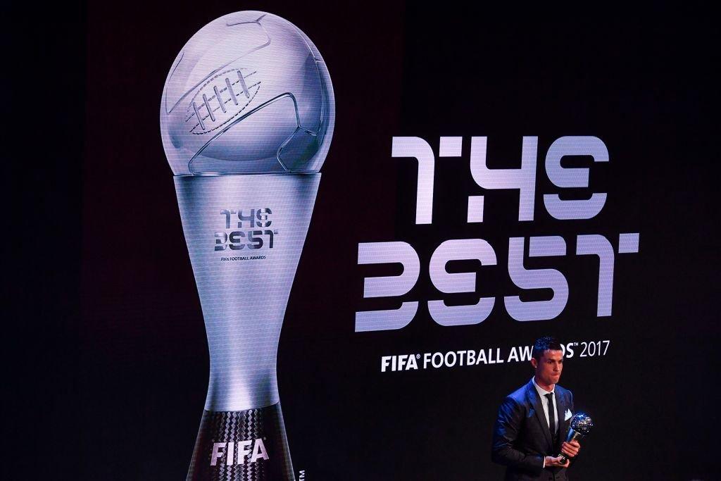 Ronaldo fue el ganador de los primeros premios The Best de la FIFA en 2017.