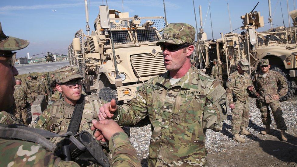 Un soldado estadounidense al que le amputaron un brazo.