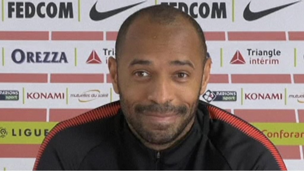 Thierry Henry: Preparing to face Patrick Vieira as Monaco play Nice