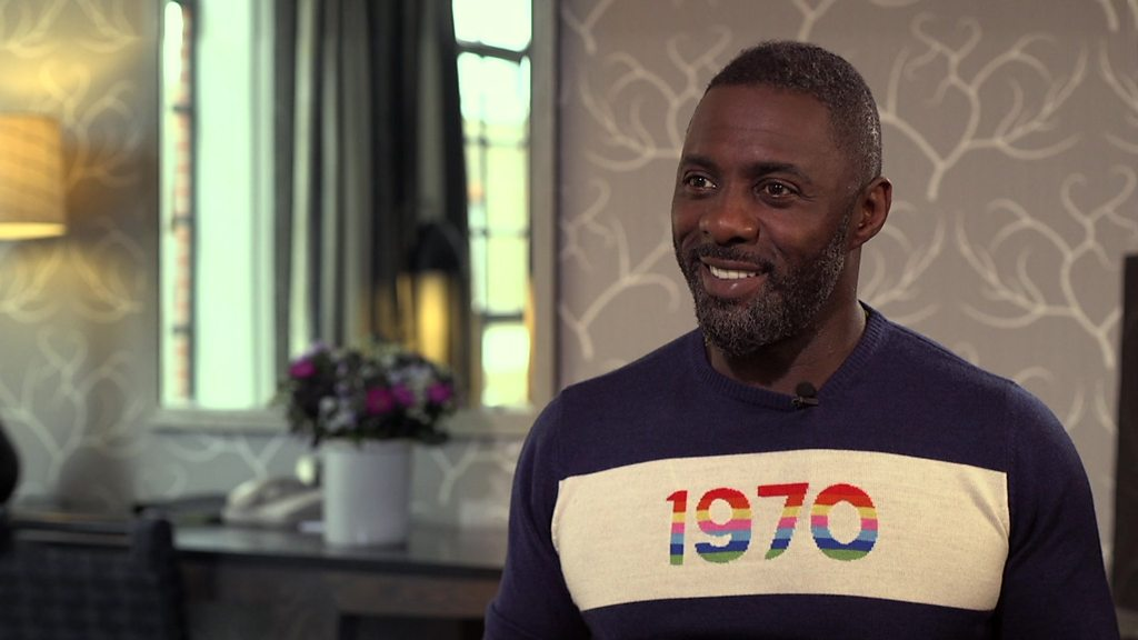 Film star Idris Elba on directorial debut